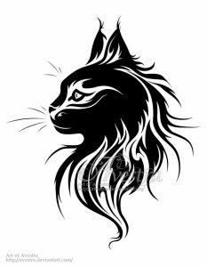 maine_coon_cat_logotype_by_avestra-d72jtyy