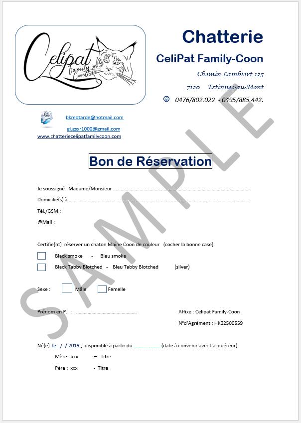 bon de reservation page1